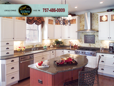 virginia beach kitchen cabinet